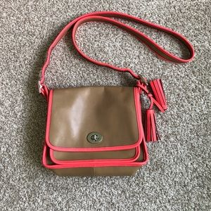 Coach Legacy Leather Rambler Crossbody